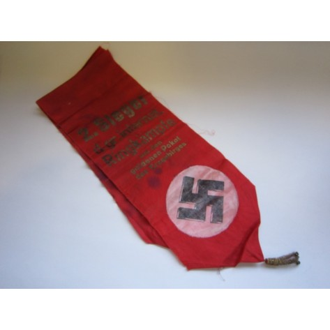 "Commemorative Sash ""2. Steger d. gr. Internat"""