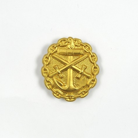 WW I German gold grade wound badge.