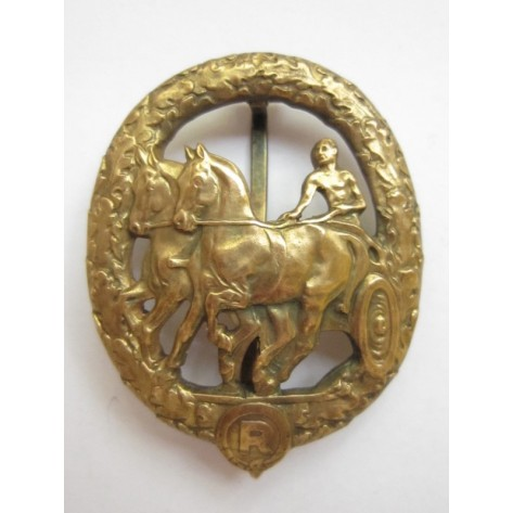 German Horse Driver's Badge (Gold)