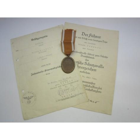 Dos concesiones (IAB y D. Schutzwall) y Medalla