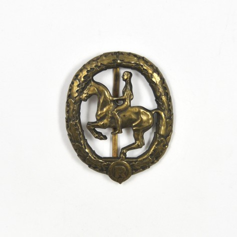 German Horseman's Badge.