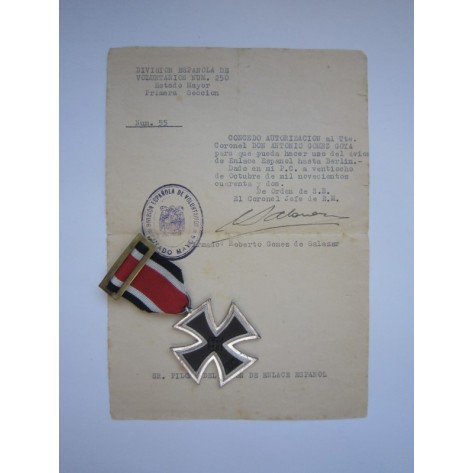 "Iron Cross ""100"" (Spanish Style Ribbon)"