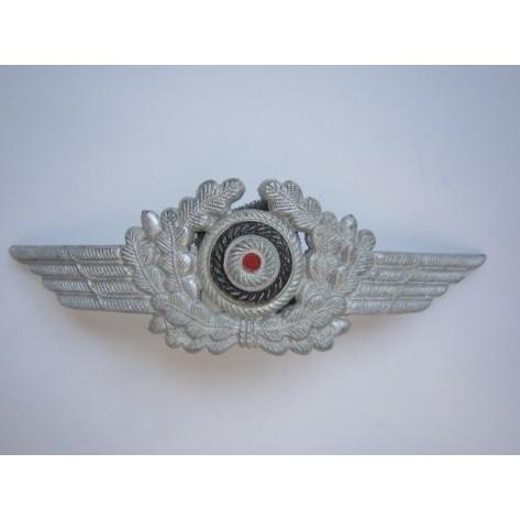 Cocarda metálica para gorra Luftwaffe