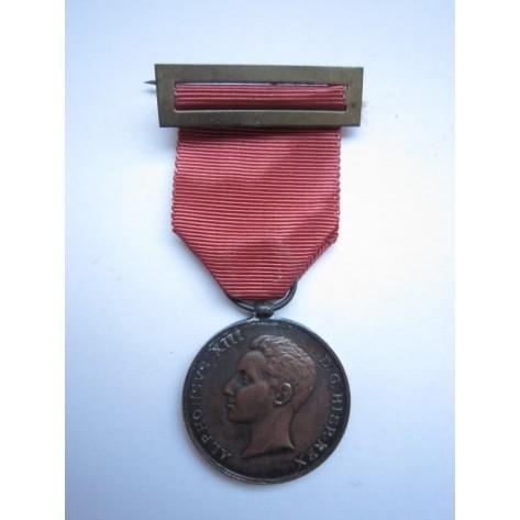 Medalla mayoría de edad Alfonso XIII