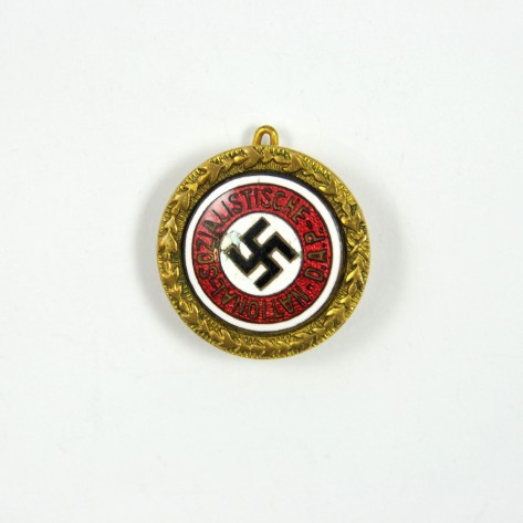 NSDAP Golden Party Badge.