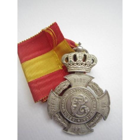 Don Carlos Medal (silver)