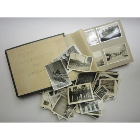 Album fotográfico Regimiento Flak 35