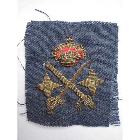 Spanish General of the Army embroidered shield