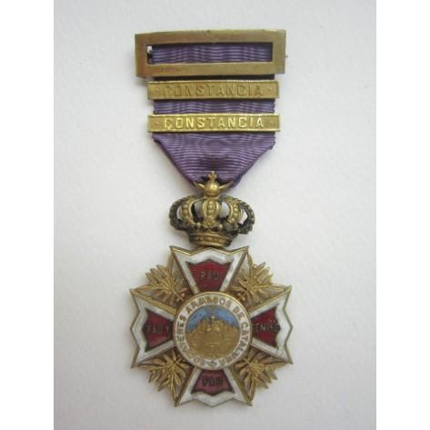Somatén Medal (Constancy)