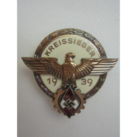 Kreissieger 1939 Victor's Badge (Aurich)