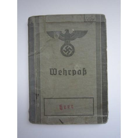 Wehrpass (Gren.Rgt.148). Stalingrado