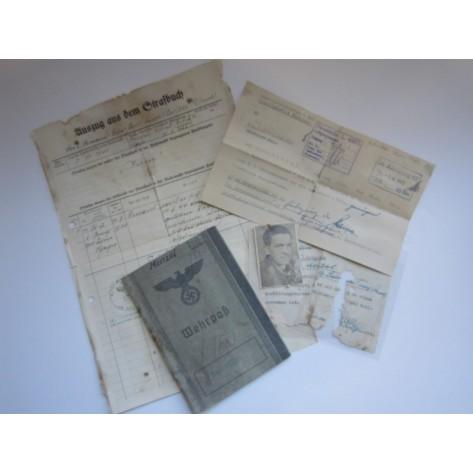 Wehrpass (2/Lg.Abt.82)(2./Pioneer Lehrbataillon)
