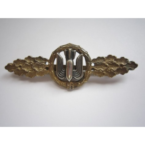 Bomber pilots/crew Squadron Clasp in Gold