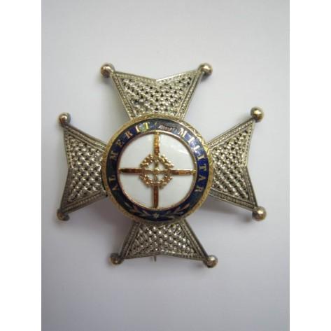 Placa de la Real y Militar Orden de San Fernando