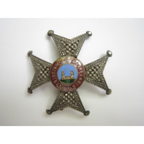 Constancy of the National Militia Badge.