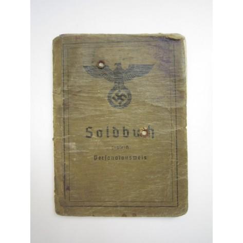 Soldbuch Karl Füchs (Czech Republic)