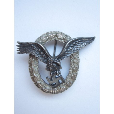 Luftwaffe Pilot's Badge (C.E. Juncker)