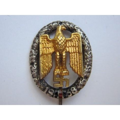 NSDAP Gau Sudetenland 1938 miniature stickpin.