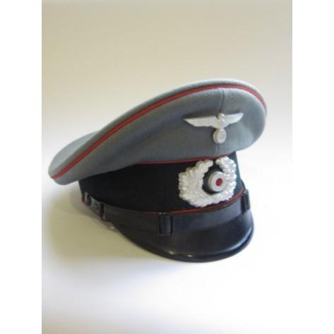 Artillery NCO's visor cap