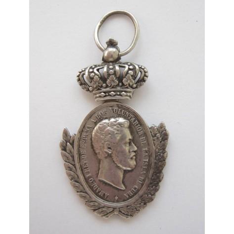 Cuba Volunteers Medal