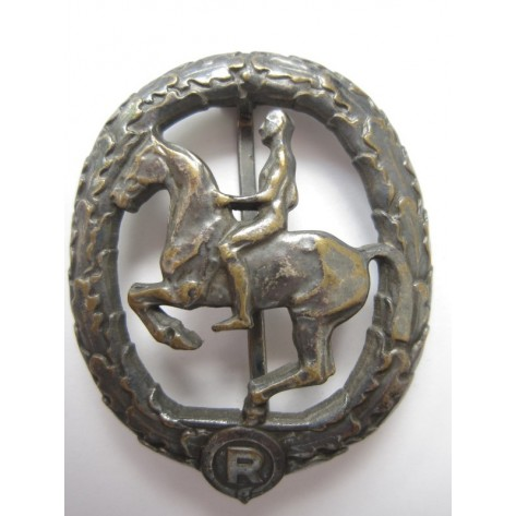 German Horseman's Badge
