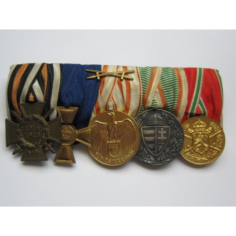 First World War Medal Bar.