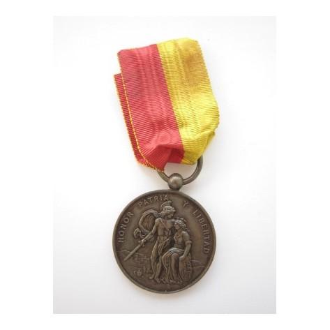 City of Bilbao Defender Medal