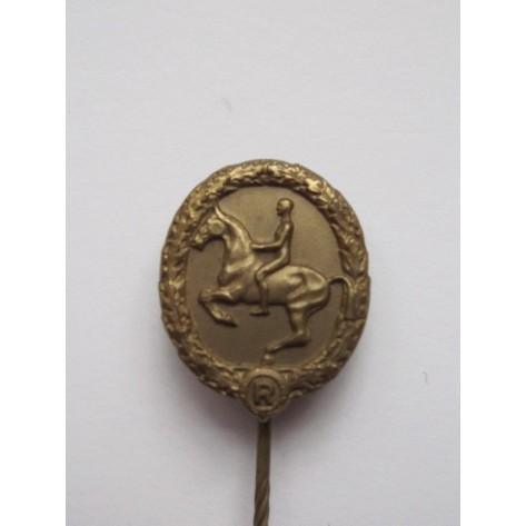 Pin miniatura del Deutsches Reiterabzeichen