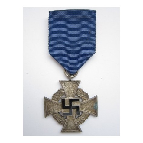 German Faithful Service Medal for 25 years.