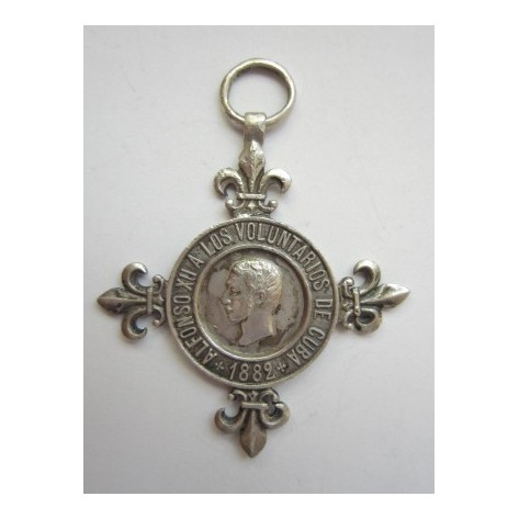Cuba. Constancy Medal.