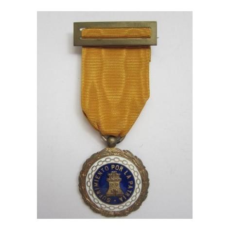 Medalla de Sufrimientos por la Patria (prisionero)