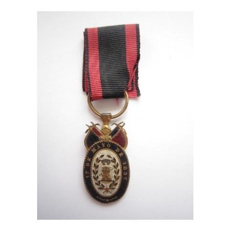 Irún Medal (Officers)