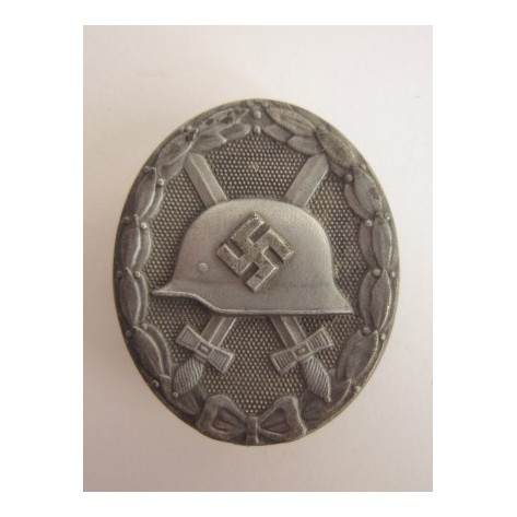"Silver Wound Badge ""4"""