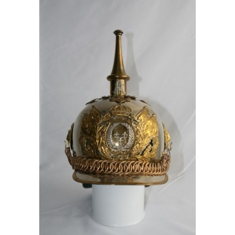 Borbon's Regiment Officers Helmet