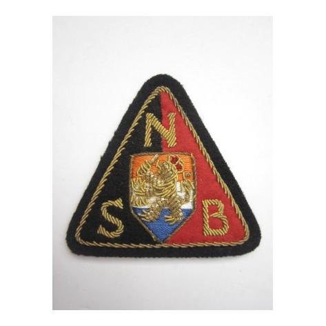 Third Reich period Ducht NSB Officer's Patch
