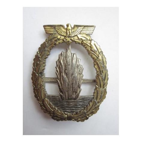 Minesweepers Kriegsmarine War badge.