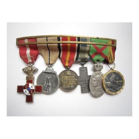 Spanis Blue Division Medal bar