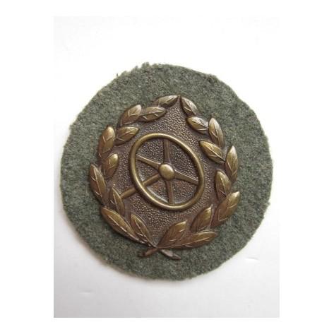 Driver's Proficiency Badge. Bronze grade.