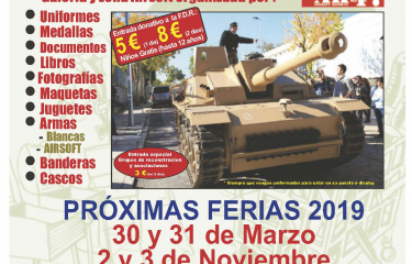 Feria Militaria 2019 30th and 31th March